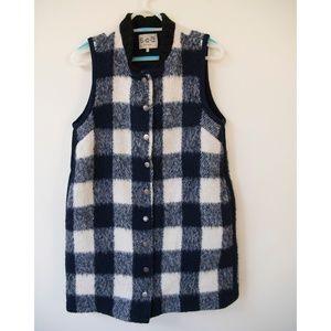 SEA New York wool blend vest-coat size 4